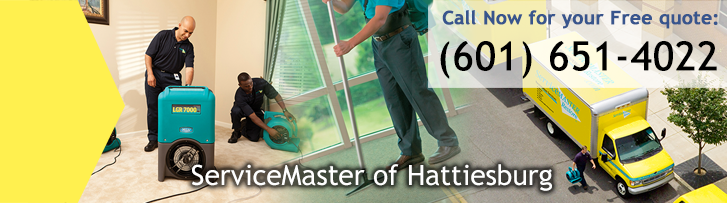 Disaster Restoration and Cleaning Services in Hattiesburg, MS