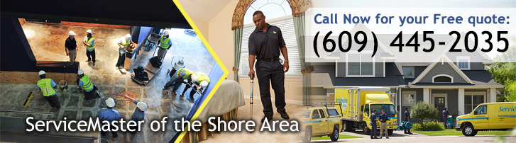 ServiceMaster Disaster Restoration and Cleaning Services in Ocean City and Egg Harbor Township, NJ