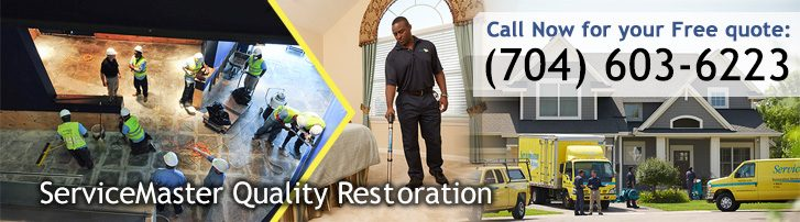 ServiceMaster Quality Restoration - Charlotte, NC - Disaster Restoration and Cleaning Services