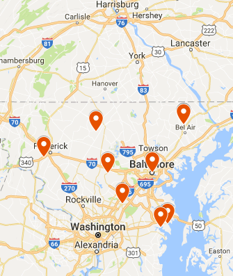 Disaster Restoration And Cleaning Services For Baltimore MD - Where is baltimore md