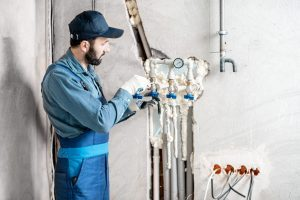 Frozen Pipes Water Mitigation in Elk Grove Village, IL 60007