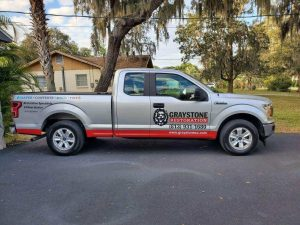 Graystone Restoration truck disaster restoration services