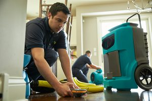 water damage restoration and removal in Toms River, NJ by ServiceMaster of the Shore Area