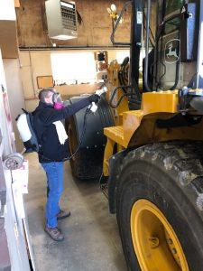 Putnam Garage Vehicle Interior Cleaning