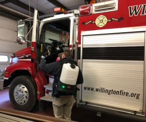 Interior Firetruck Cleaning