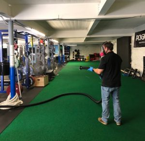 Commercial Cleaning - Electrostatic Sprayer
