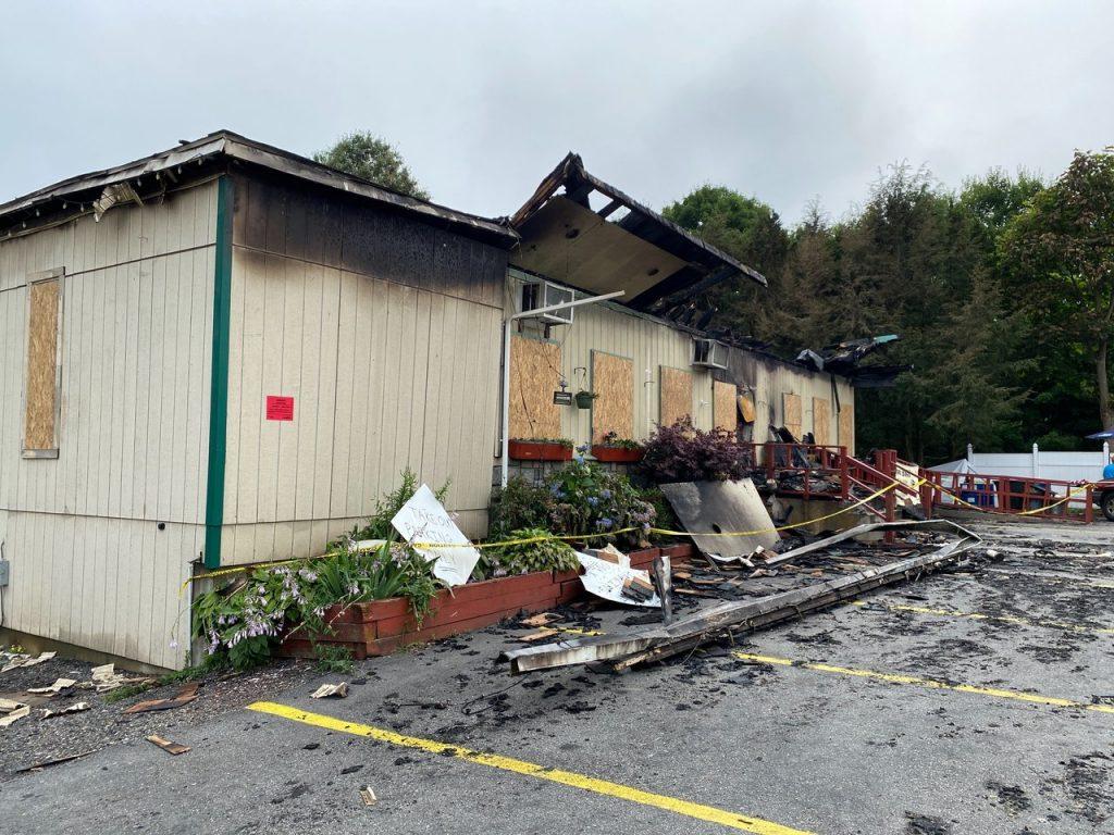 Fire Damage Restoration in Restaurant