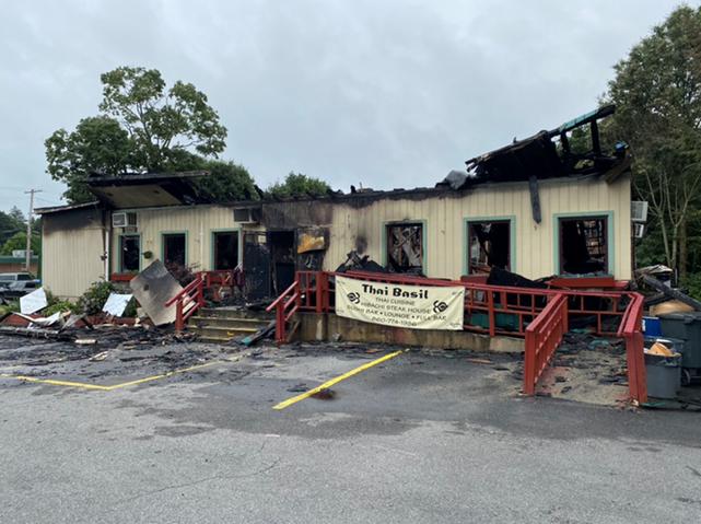 Fire Damaged Restaurant