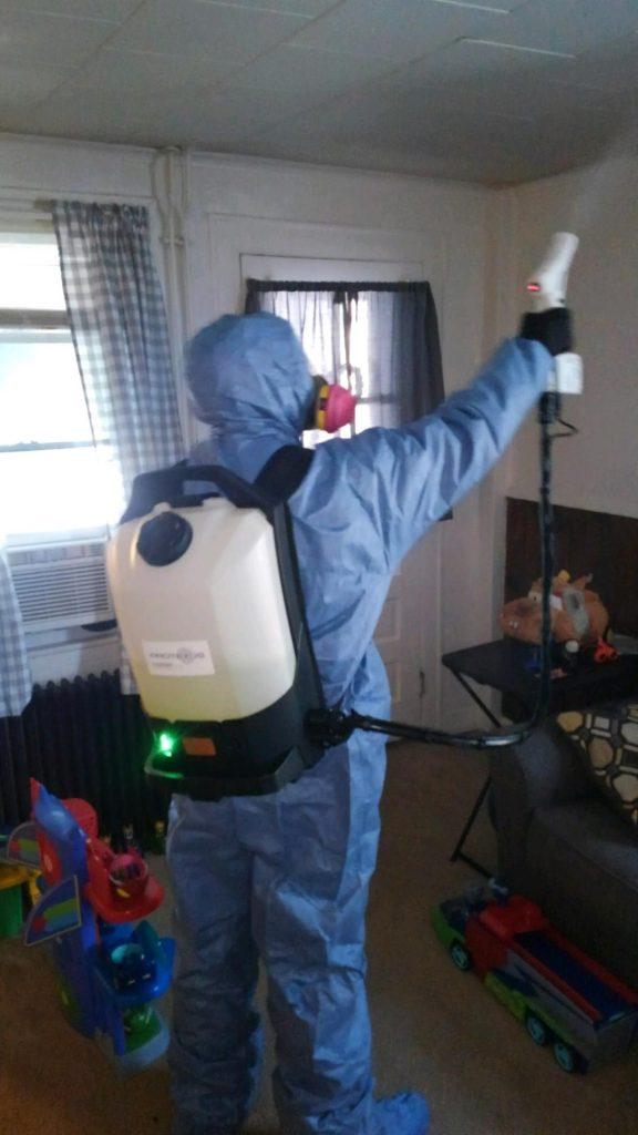 Norovirus Cleaning Mansfield CT