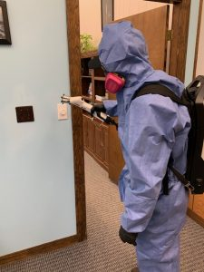 Putnam Town Hall Cleaning