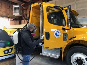 Commercial Vehicle Interior Cleaning