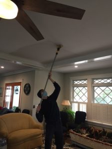 ServiceMaster by Mason Technician Puffback Cleaning
