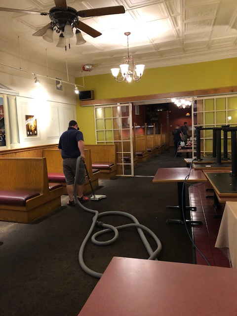 Carpet Cleaning - The Courthouse Bar & Grille in Putnam CT
