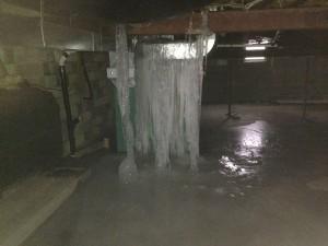 Frozen Water Leak