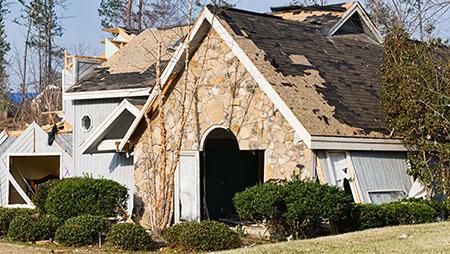 Storm & Wind Damage Repair in League City, TX