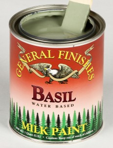Milk Paint Basil