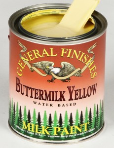 Milk Paint Buttermilk Yellow