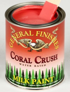 Milk Paint Coral Crush