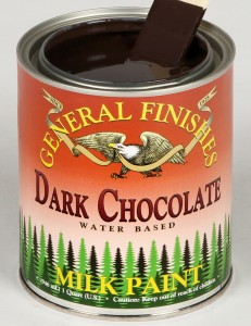 Milk Paint Dark Chocolate