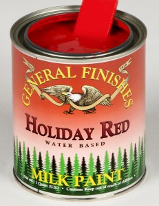 Milk Paint Holiday Red
