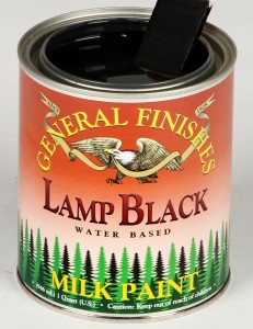 Milk Paint Lamp Black