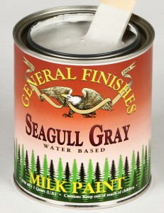 Milk Paint Seagull Gray