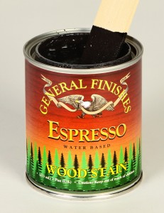 Retail Water Based Wood Stain Espresso