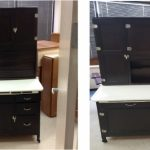 Furniture-Restoration-Hoosier-Cabinet-Before-in-West-Chicago-and-Carol-Stream-IL