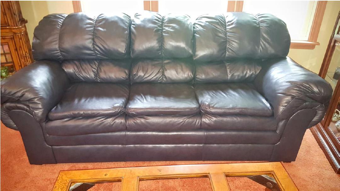 Leather Furniture After Restoration