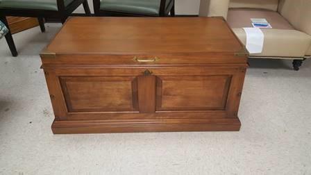 Wood desk-After-Restoration-Aurora-il