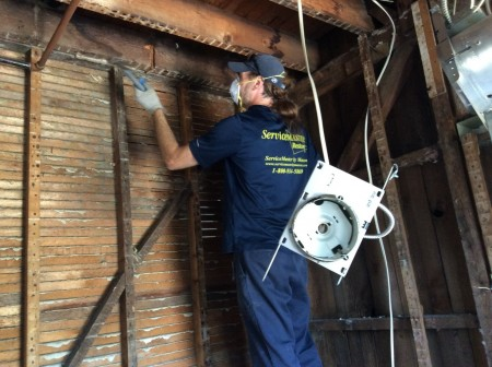 ServiceMaster by Mason - Latest Projects - Fire Damage Restoration of Pawcatuck Home