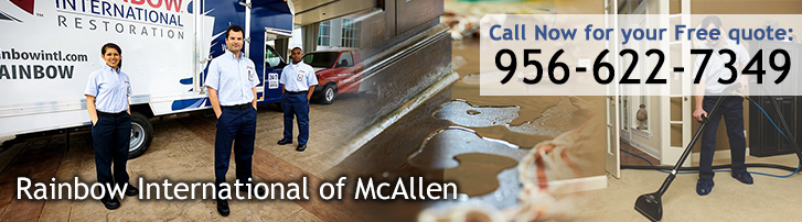 Rainbow International of McAllen - Disaster Restoration and Cleaning Services in McAllen, TX