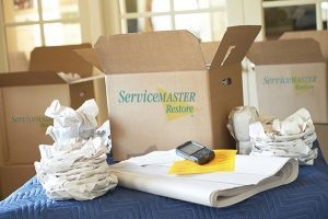 Pack-out and content cleaning Services in Derry, NH by ServiceMaster By Disaster Associates, Inc.