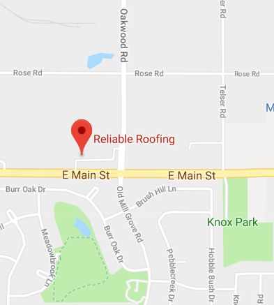 Reliable Roofing Location