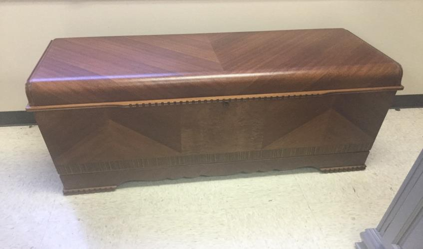 Hope Chest After Restoration in Carol Stream, IL
