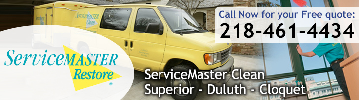 ServiceMaster Disaster Restoration and Cleaning in Superior, WI