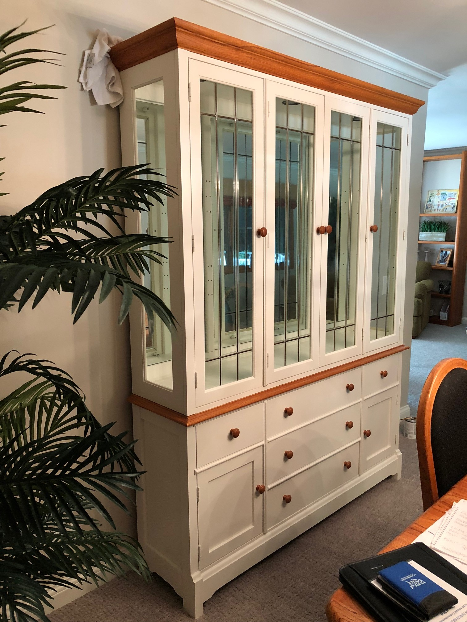 Dining Room Armoire Cabinet in Chicago IL