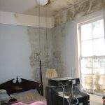 Mold Removal services are needed for this Yuba City, CA bedroom