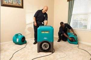 water damage restoration and cleanup in Yuba City, CA